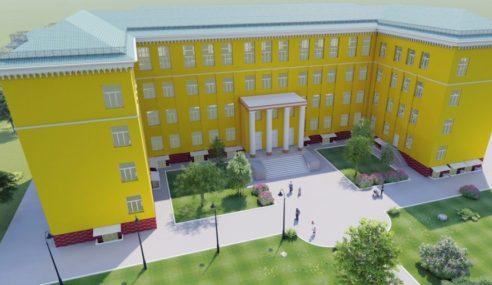 З кожним днем будівля Школи №5 набуває покращений вигляд!